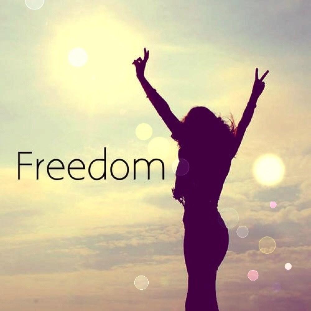 Картинка с надписью я свободна